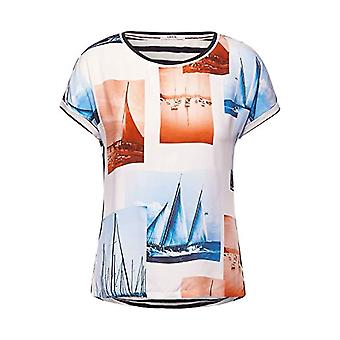 Cecil 316023 T-Shirt, Pure White, XS Woman