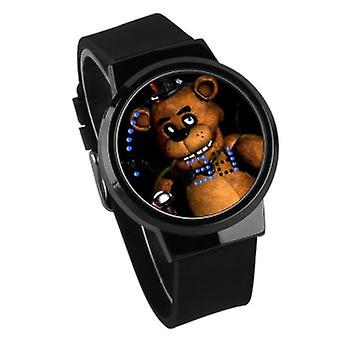 Waterproof Luminous Led Digital Touch Watch - Five Nights At Freddy's