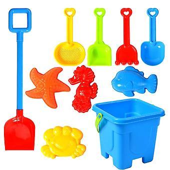 Beach Toy Sand Set, Play Sandpit, Summer Outdoor, Sandglass, Shovel Tool