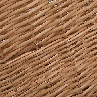 cestello in legno vidaXL con manico 78 x 54 x 34 cm pascolo naturale