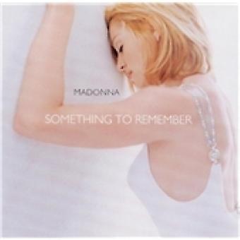 Madonna Something To Remember CD