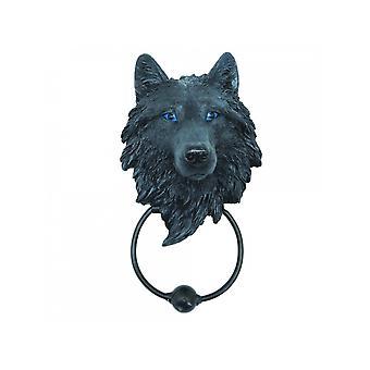 Dark Guardian Wolf Door Knocker
