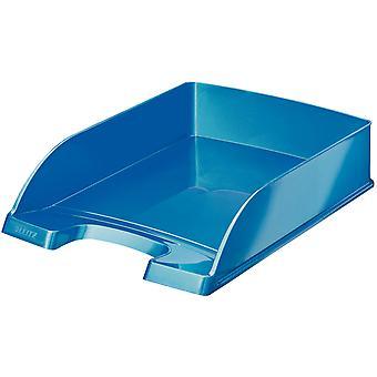 Leitz Letter Tray WOW Plus A4 Blue