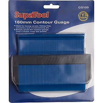 SupaTool Contorno Guage 160mm