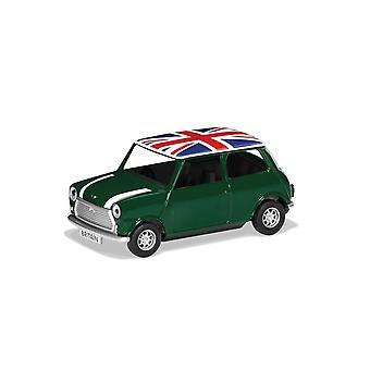 Classic Mini Green Best of British Corgi 1:36 Model Car