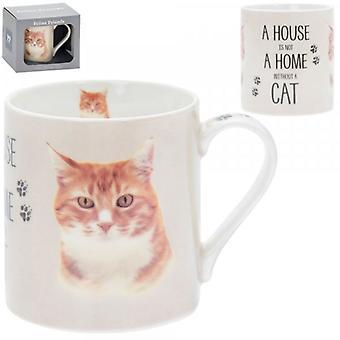 Fine China Ginger Cat Mugg av Lesser & Pavey