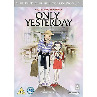 Endast igår 2016 DVD