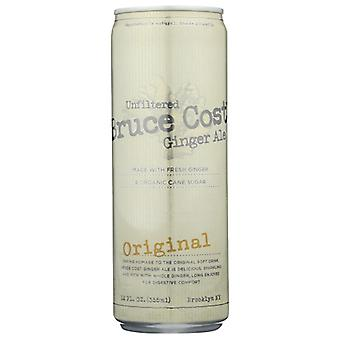 Bruce Cost Ginger Ale Ginger Ale Orngl Can, Case of 24 X 12 Oz