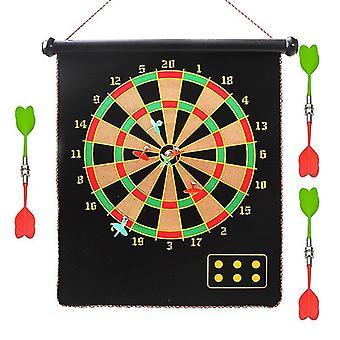 17 Zoll Target Dart Dartboard Darts Board Indoor Shooting Spiel Sicherheit Ziel Magnetische Darts