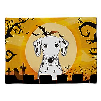 Caroline's Treasures BB1768PLMT Halloween Dalmatinisches Stoff Tischset, Multicolor