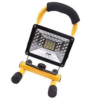 25 * 14Cm צהוב 30w אור הזרקורים נטען הוביל עבודה אור הזרקורים זרקור פנס אדום אור אור מהבהב עם כבל USB dt4179
