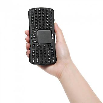 Mini Portable Wireless Remote Bluetooth Keyboard With Multi-touch Pad Mouse