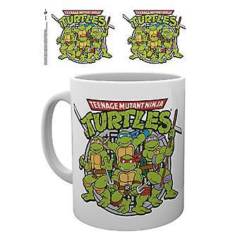 Teenage Mutant Ninja Turtles Retro-Becher