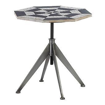 ניקי צ'ו שולחן צדדי בגובה דמקה מתכוונן, חבילה של 1