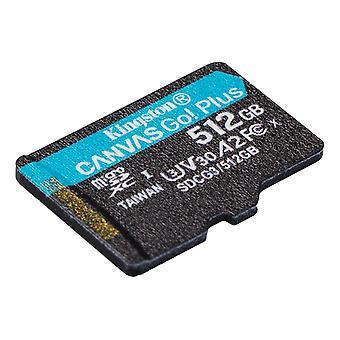 Kingston 512GB microSDXC Canvas Go Plus 170R A2 U3 V30 bez adaptéra