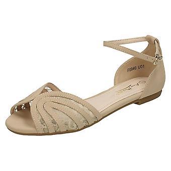 Sandalia de las señoras Anne Michelle tobillo