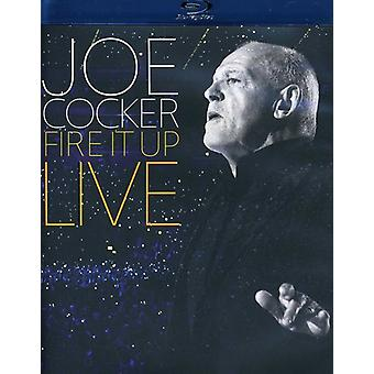 Joe Cocker - Fire It Up: Importación Live USA [BLU-RAY]