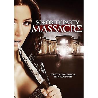 Importer de la sororité USA Party Massacre [DVD]