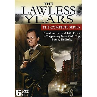 Lawless Years: Complete Series [DVD] USA import
