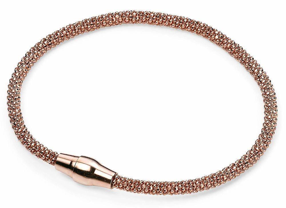 925 Silver Rose Gold Plated Bracelet