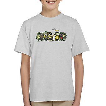 Minions Meat Grinder Platoon Kid's T-Shirt
