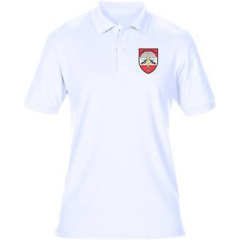 Österreichischen Spezialeinheiten Jagdkommando Stickerei Logo - Herren Polo-Shirt