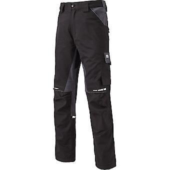 Dickies Mens GDT Cordura joelheira bolsos calças de Workwear Premium