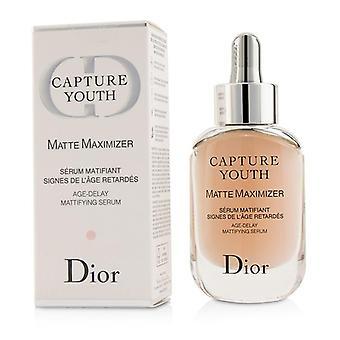 Christian Dior Capture Youth Matte Maximizer Age-delay Mattifying Serum - 30ml/1oz