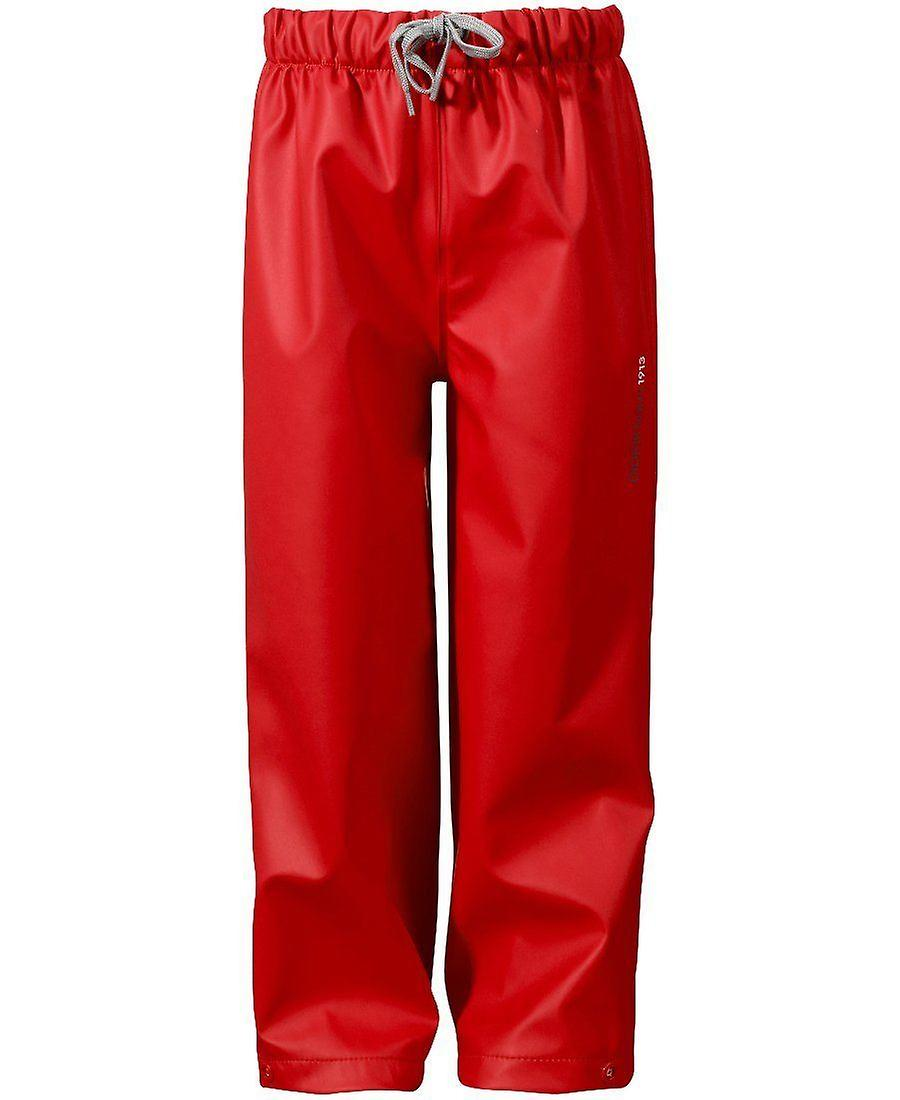 Didriksons Midjeman Kids Waterproof Pants - Red