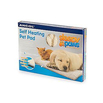 Ancol - själv värme sällskapsdjur Pad katt/hund bädd