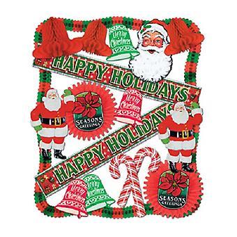 Kit - 20 pièces de décoration de Noël