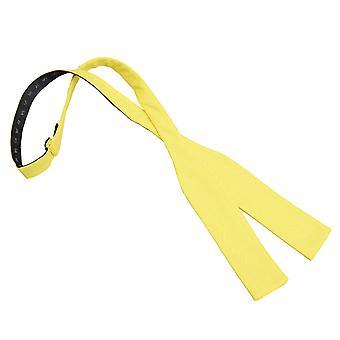 Påskelilje gule Hopsack sengelinned Batwing selv binde Bow Tie