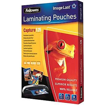 Fellowes Laminate sheet A4 125 micron glossy 100 pc(s)