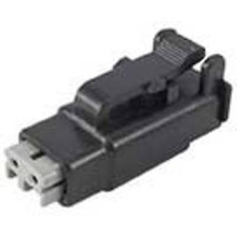 TE Connectivity DTMH06-2SA Bullet connector Socket, straight Series (connectors): DTM Total number of pins: 2 1 pc(s)