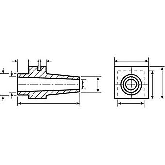 HellermannTyton H121 PVC-FR BK 500 cabo manga Terminal Ø (máx.) 8 mm PVC preto 1 computador (es)