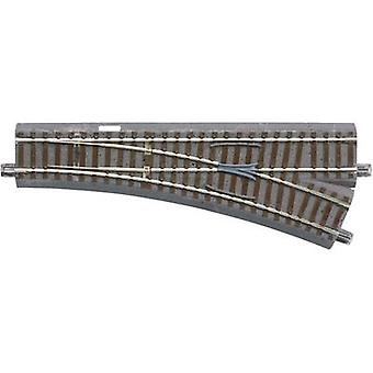 61141 H0 Roco GeoLine (incl. track bed) Points, Right 200 mm 22.5 ° 502.7 mm