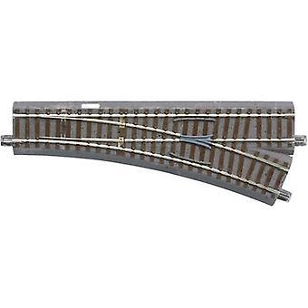 61141 H0 Roco GeoLine (letto da pista) Punti, Destra 200 mm 22,5 x 502,7 mm
