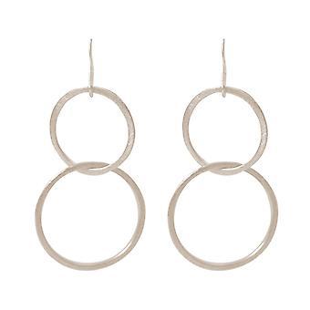 Gemshine Earrings Earrings Silver plated Circles Minimalist Design Scandi