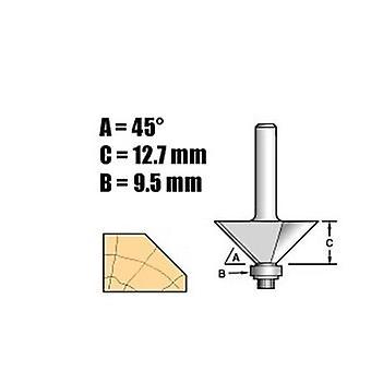 Trend C049 X 1/4 Tungsten Carbide Self Guided Chamfer