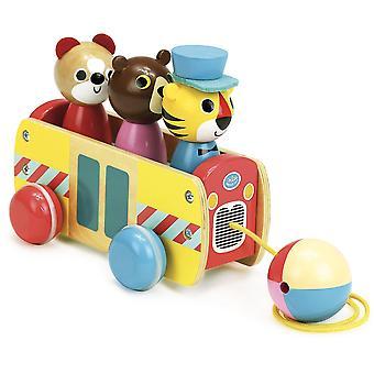 Vilac Coach Pull Toy
