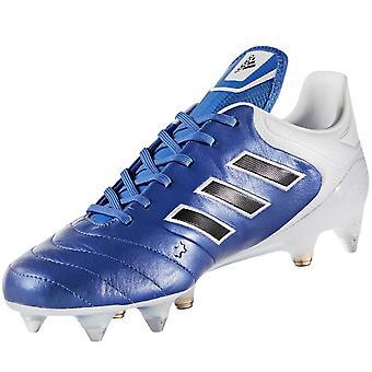 adidas Performance Mens Copa 17.1 SG Football Soccer Sports Training Boots -Blue