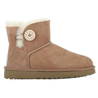 UGG Classic Mini Bailey knappen Chestnut 1016422CHE universal vinter kvinder sko