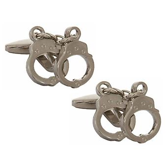Zennor Handcuff Cufflinks - Silver