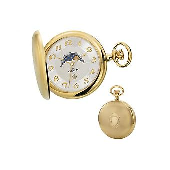 Dugena Savonette pocket watch with chain 4460306