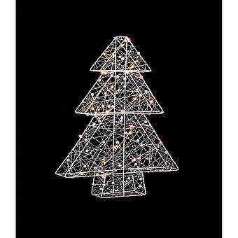 Christmas Shop Wire julgran med 30 LED-lampor