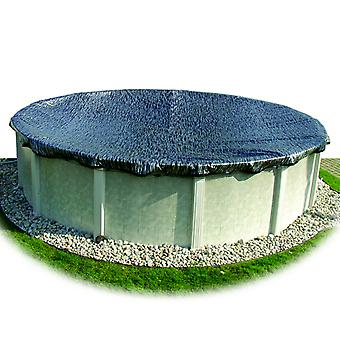 Hinspergers EM12R4 15' Round Enviro Mesh Winter Cover for 12' Above Ground Pool