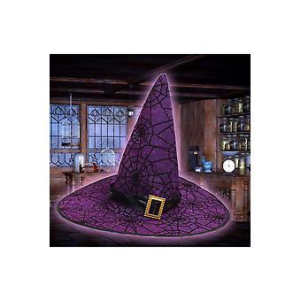 ハロウィーン ・ ホラー魔女帽子デラックス グリッター