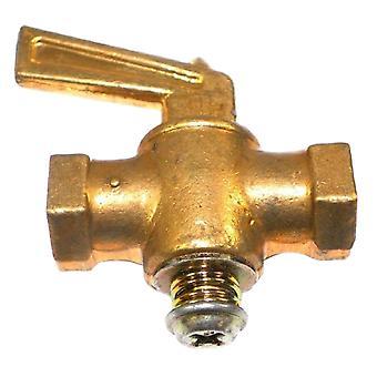 """Big A 3-33122 Brass Pipe, avstängnings kranar kvinnliga Drain ventil 1/8 """"x 1/8"""""""