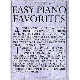 Library of Easy Piano Favourites (Library of Series)