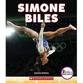 Simone Biles (Rookie Biographies (Paperback))